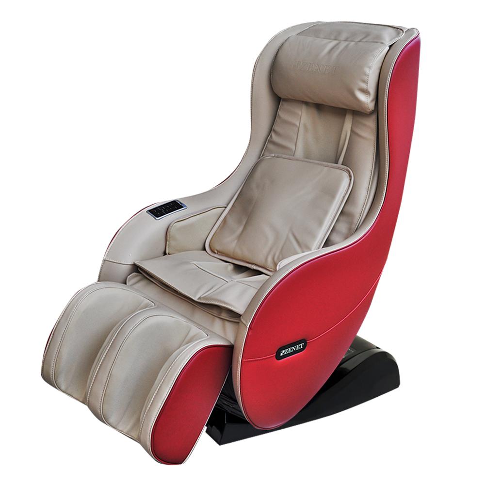 Массажное кресло беж ZENET ZET-1280