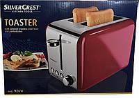 Тостер SilverCrest STS 920A1 920W Red + 7 режимов обжаривания