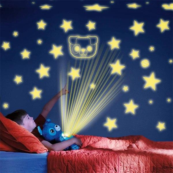 М'яка іграшка нічник-проектор Star Bellу Dream Lites Puppy