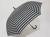 Зонт-трость семейная Star Rain 8 спиц полуавтомат в полоску