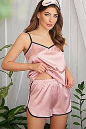 Женские домашние шелковые шорты Шелби