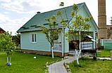 Блок Хаус Оливка Альта-Профіль Слім під колоду 3,66 м (Slim блок хаус під брус), фото 3