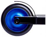 Трюковый самокат Maraton Scorpion с рулевой системой HIC + 2 пеги Синий металлик, фото 3
