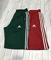 Мужские спортивные брюки Adidas с манжетом и лампасами.Производство Турция