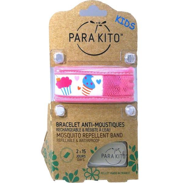 Детский браслет для защиты от комаров Паракито Parakito Kids Anti-Mosquitoes Bracelet
