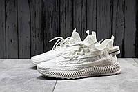 Летние мужские кроссовки из текстиля, легкие комфортные весенние кросовки для зала белого цвета