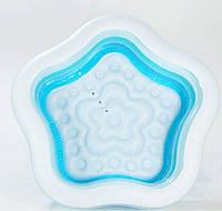 Дитячий надувний басейн «Морська Зірка» Intex 56495 (183*180*53 см)