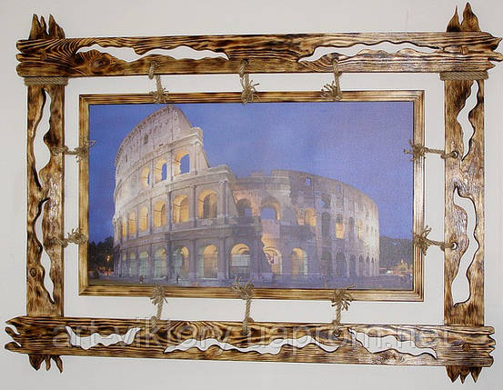 """Картина в эксклюзивной деревянной раме """"Колизей"""", фото 2"""