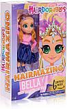 Кукла Hairdorables Fashion dolls Bella с Сюрпризами Hairmazing Хэрдораблс 26 см 23821, фото 4