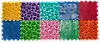 """Массажный коврик с настольной игрой """"Лісові пригоди"""" 10 элементов, фото 9"""