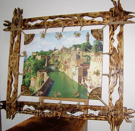 Картина на холсте в деревянной раме под старину., фото 2