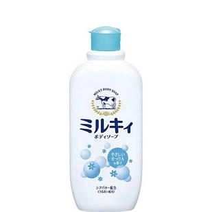 Cow Milky body White flowers мыло для тела с экстрактом с аминокислотами шелка и ароматом белых цветов, 300 мл