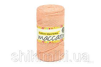 Эко Шнур Cotton Macrame, цвет Персиковый