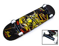 СкейтБорд деревянный от Fish Skateboard Рыцарь оптом