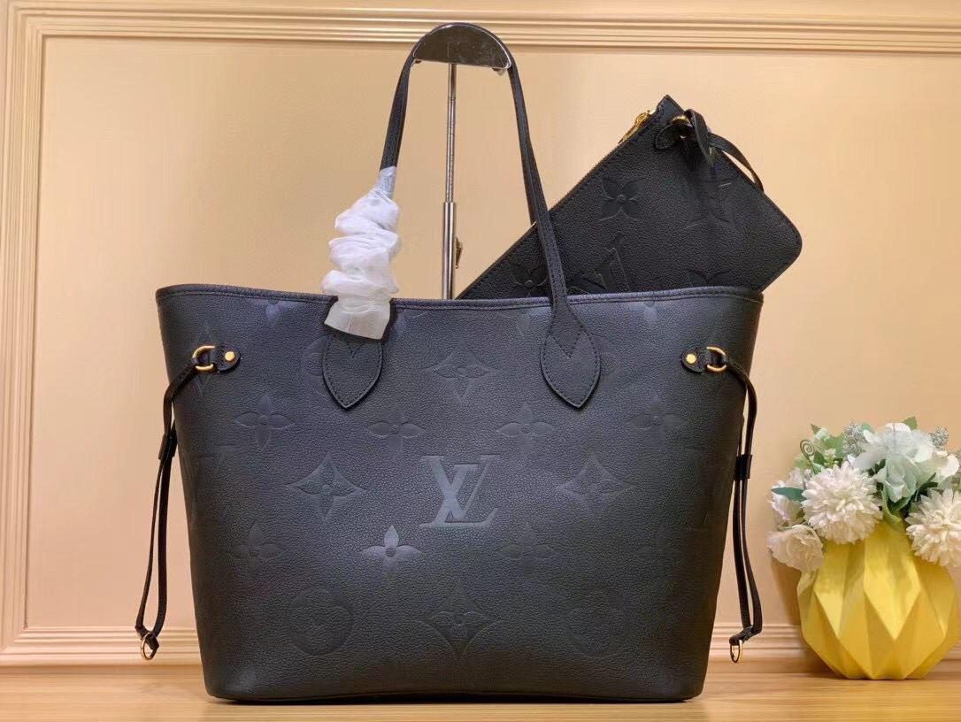 Сумка Louis Vuitton Neverfull кремовая (Луи Витон) арт. 03-473