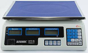 Ваги торговельні товарні електронні Alfasonic до 40 кг