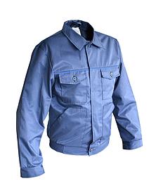 Куртка рабочая Украина ткань грета синяя 52 - 54 (70-180)