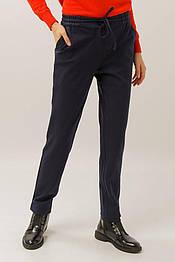 Женские повседневные брюки Finn Flare A19-32026-101 темно-синие