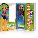 Большая кукла Хэрдораблс Гармония  - Hairdorables Hairmazing Harmony Fashion doll 23833, фото 3