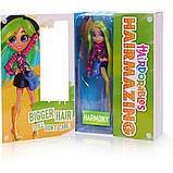 Велика лялька Хэрдораблс Гармонія - Hairdorables Hairmazing Harmony Fashion doll 23833, фото 3
