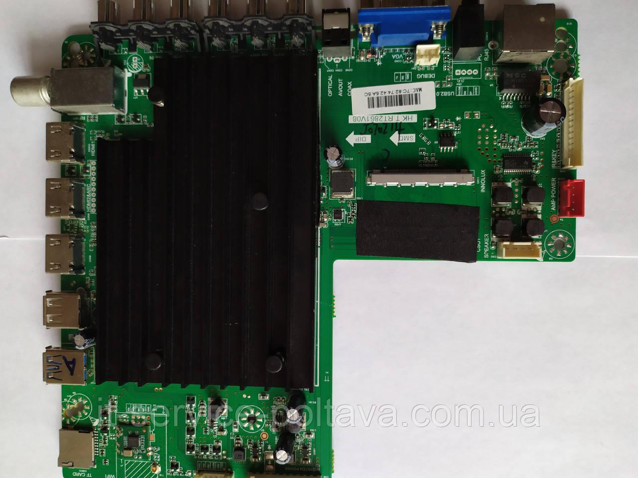 Материнська плата (Main Board) HK.T.RT2861V08 для телевізора Liberton