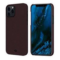 Чехол Pitaka MagEZ Case Plain Apple iPhone 12 Pro Black/Red (KI1204P), фото 1