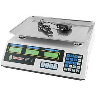 Ваги торговельні товарні електронні Matrix до 50 кг