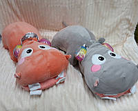 Детская игрушка с покрывалом - Бегемот