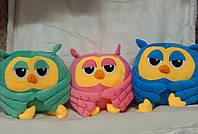 Детская игрушка с покрывалом - Сова