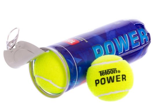 М'яч для великого тенісу TELOON POWER (3шт) T616P3
