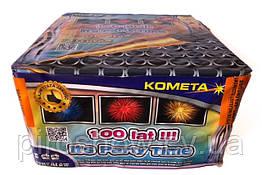 Салют It's Party Time 100 выстрелов 25 калибр | Фейерверк P7885 Kometa