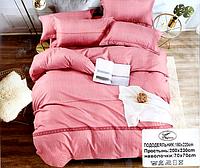 Постельное белье двуспальное KOLOCO розовое