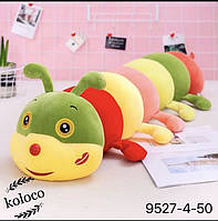 Детская игрушка с покрывалом - Гусеница