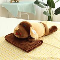 Детская игрушка с покрывалом - Песик