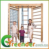 Детские деревянные спортивные комплексы для дома ДСК «Sport 4-240»