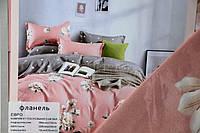 """Полуторное постельное белье """"Фланель"""" - Розовые сны"""
