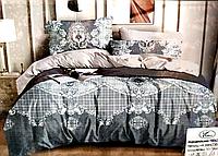 Постельное белье двуспальное с узорами