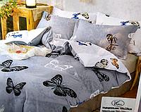 Постельное белье Евро размера бабочки
