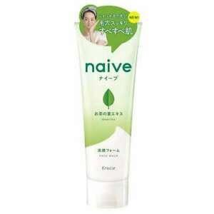 Kracie Naive пінка для вмивання з екстрактом зеленого чаю 130 гр