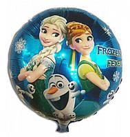 """Воздушный шар фольга """"Frozen"""", D-46см уп50"""