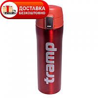 Оригинальный термос - кружка Tramp 0,45 л красный TRC-107-red
