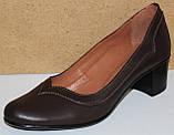 Туфлі жіночі на середньому каблуці від виробника модель КС11, фото 2