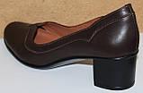 Туфлі жіночі на середньому каблуці від виробника модель КС11, фото 5