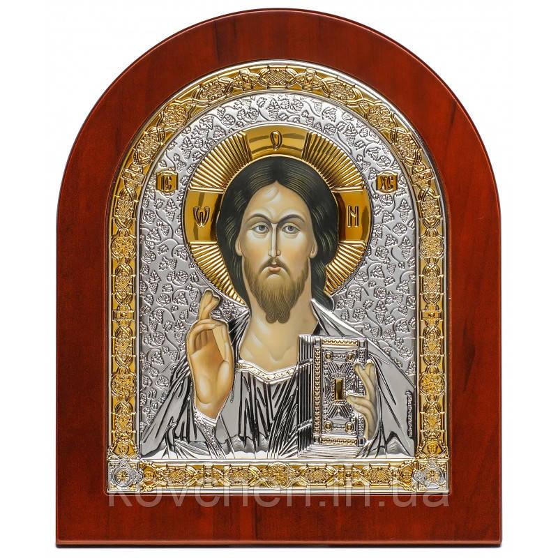 Ікона Спаситель Грецька Срібна 22,8x27,6