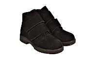 Детские ботинки на липучках демисезонные замшевые на девочку 233117
