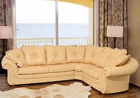"""Угловой кожаный диван """"Isadora"""""""