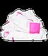 Набор пеленок Matcstick Monkey со 100% органического хлопка Muslin 120 * 120 см розовые 2 шт, фото 3