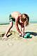 Набор для пляжа Quut Triplet триплет ринго волшебная формочка в сумке, фото 6