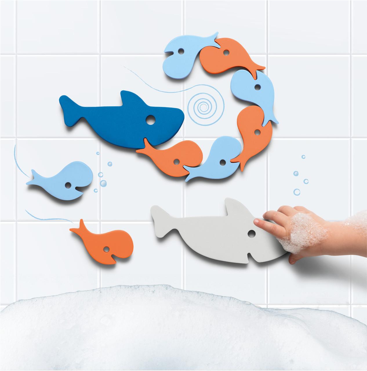 Игрушка для ванной Quut Пазл-головоломка Акулы (171041)