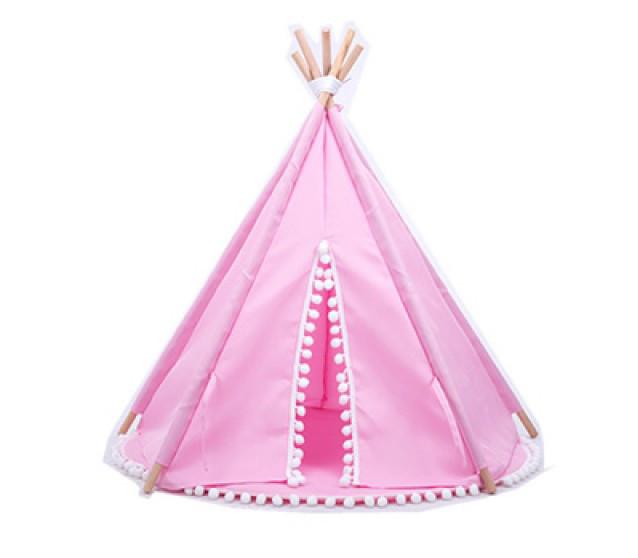 Дитячий ігровий намет Вігвам рожева